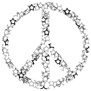 Star Peace Sign