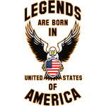 Legends are born in USA