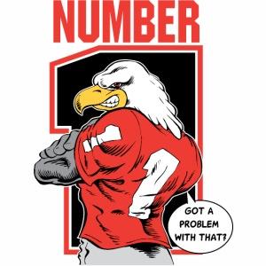 Eagle Back Number 1
