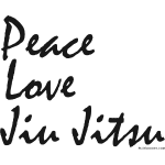 Jiu Jitsu - Peace Love bw