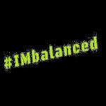 IMbalanced logo (on black