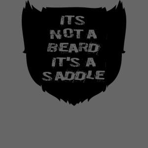 Its not a beard its a saddle
