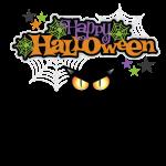 happy holloween BLACCK CAT TEE