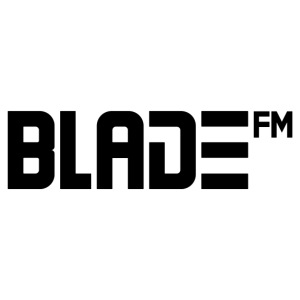 Black BladeFM Logo