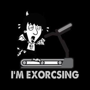 I'm Exorcising My Demon   Funny Halloween Workout