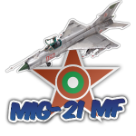 Bulgarian Air Force Mig-21 MF Jet Fighter