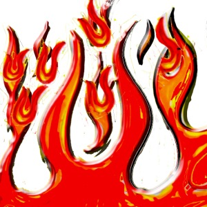 the flamz logo for hot