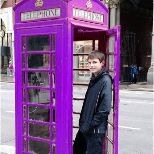 Sean in England Purple
