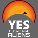 Yes, There are aliens - observatory closed sun UFO