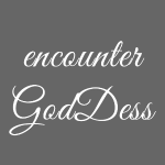 """inspi shirt-7.2: """"encounter GodDess"""" (white) ~"""