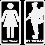 Your Woman vs My (Military) Woman  ©WhiteTigerLLC.