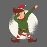Christmas elf t shirt