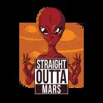 Straight outta mars