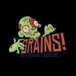 Grains vegan zombie shirt