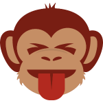 Monkey Tongue and Closed Eyes