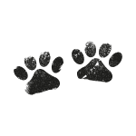 Two Black Paws - Dog Lovers