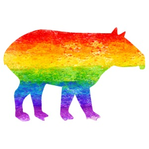 Tapir Pride colors