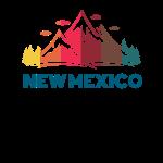Design rétro New Mexico pour hommes, femmes et enfants