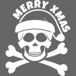 Merry xmas skull 2018