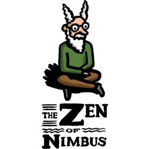 The Zen of Nimbus t-shirt / Nimbus color with logo