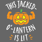 This Jacked-O'-Lantern Is Lit