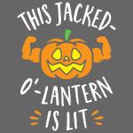 This Jacked-O'-Lantern Is Lit