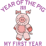 Born 2019 Year of The Pig