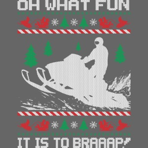 Snowmobile Fun Christmas
