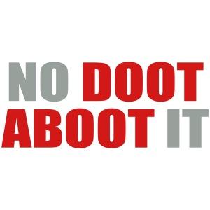 No Doot Aboot It