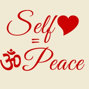108-lSa Inspi-Quote-83.b Self-love = OM-Peace