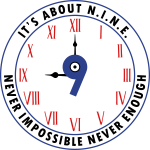 NINE Logo v2 2018 blue Outlines Red Numbers