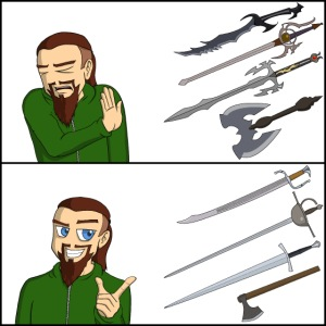 Sword Reaction Meme