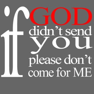 IF GOD DIDN'T SEND PLEASE