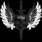 Sword in the Winged Skull