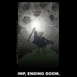 Imp Ending Doom -blk