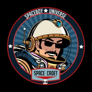 Spaceboy - Space Cadet Badge