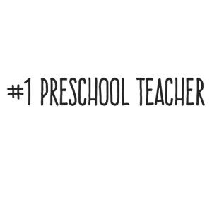 1 Preschool Teacher