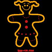 Christmas Cookie Woman
