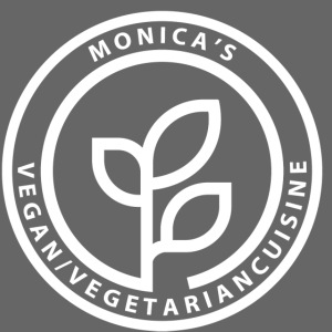 Monica's Vegan Logo