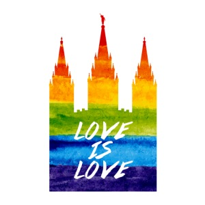 Mormon gay temple love is love