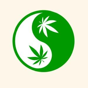 Ying Yang Cannabis - Weed Ying Hanf Yang - Design