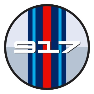 917 Martin classic racing livery - Le Mans