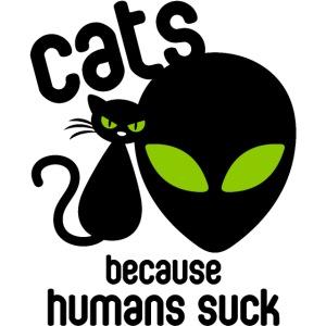 Cat and alien design