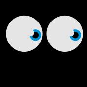 spooky ghost eyes