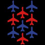 top gun planes in formation