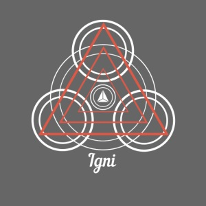 """Igni"" Fire Element Alchemy Diagram"