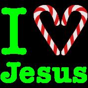 Gladditudes I Heart Jesus (for dark)