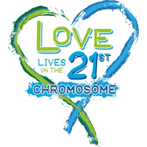 Down Syndrome Love (Blue)