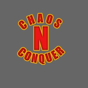 ChaosNConquer Minimalist Logo Print