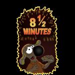 8 1/5 minutes